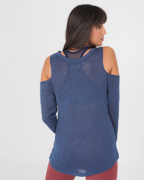 Soffice Long Sleeve Off Shoulder